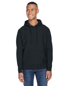 Black Adult Sport Weave Fleece Hooded Sweatshirt