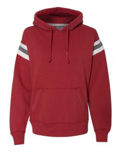 Simply Red Adult Vintage Athletic Hood