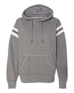 Smoke Heather Adult Vintage Athletic Hood