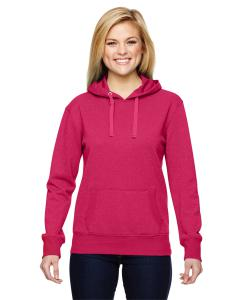 Wildberry Ladies' Glitter French Terry Hood