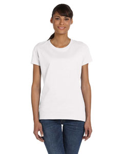 White Ladies' 5 oz.  HD Cotton™ T-Shirt