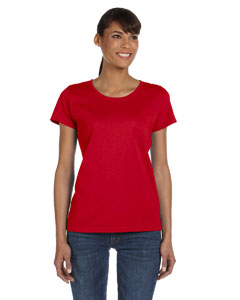 True Red Ladies' 5 oz.  HD Cotton™ T-Shirt