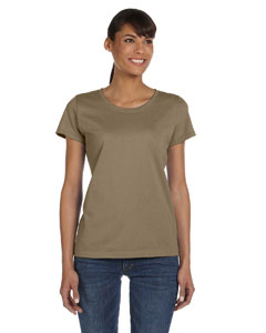 Khaki Ladies' 5 oz.  HD Cotton™ T-Shirt