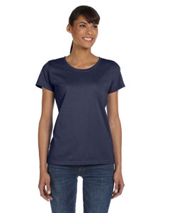 J Navy Ladies' 5 oz.  HD Cotton™ T-Shirt
