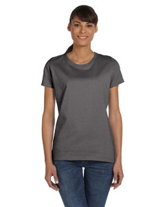 Charcoal Grey Ladies' 5 oz.  HD Cotton™ T-Shirt