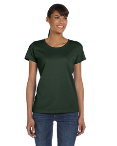 Forest Green Ladies' 5 oz.  HD Cotton™ T-Shirt