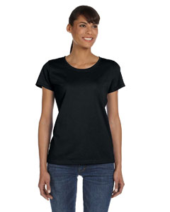 Black Ladies' 5 oz.  HD Cotton™ T-Shirt