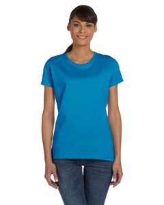 Pacific Blue Ladies' 5 oz.  HD Cotton™ T-Shirt