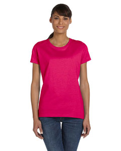 Cyber Pink Ladies' 5 oz.  HD Cotton™ T-Shirt