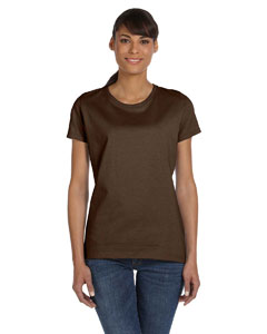 Chocolate Ladies' 5 oz.  HD Cotton™ T-Shirt
