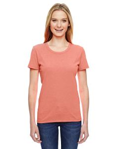 Retro Htr Coral Ladies' 5 oz.  HD Cotton™ T-Shirt