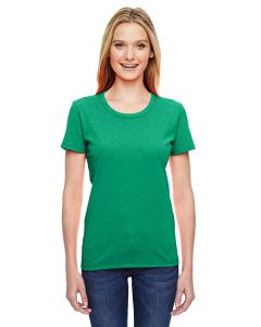 Retro Htr Green Ladies' 5 oz.  HD Cotton™ T-Shirt