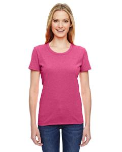 Retro Htr Pink Ladies' 5 oz.  HD Cotton™ T-Shirt