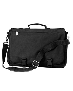 Black Corporate Raider Expandable Briefcase