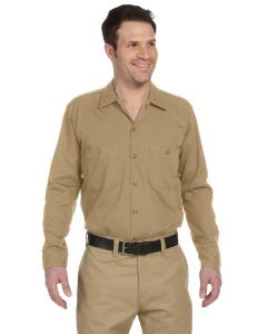 Desert Sand Men's 4.25 oz. Industrial Long-Sleeve Work Shirt