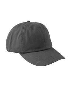 Charcoal Gray 6-Panel Low-Profile True Color Twill Cap