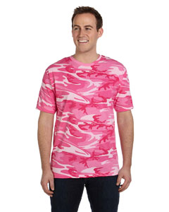 Pink Woodland Adult Camouflage T-Shirt
