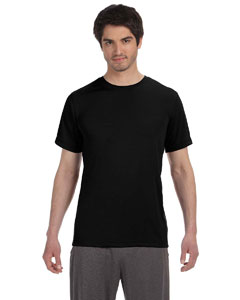 Black Men's Short-Sleeve T-Shirt