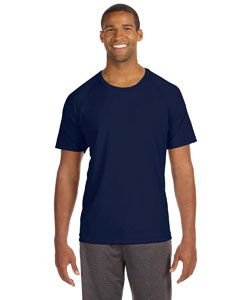 Sport Navy Men's Performance Short-Sleeve Raglan T-Shirt