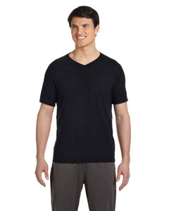 Chrcl Hthr Trblnd Men's Performance Triblend Short-Sleeve V-Neck T-Shirt
