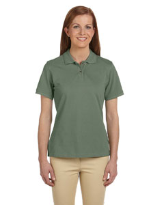 Dill Ladies' 6 oz. Ringspun Cotton Piqué Short-Sleeve Polo