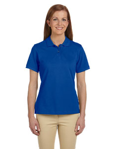 True Royal Ladies' 6 oz. Ringspun Cotton Piqué Short-Sleeve Polo