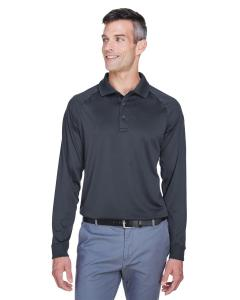 Dark Charcoal Men's Advantage Snag Protection Plus Long-Sleeve Tactical Polo