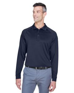 Dark Navy Men's Advantage Snag Protection Plus Long-Sleeve Tactical Polo