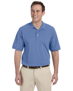 Nautical Blue Men's 5.6 oz. Easy Blend Polo