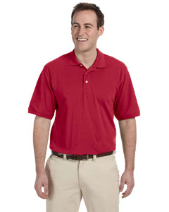 Red Men's 5.6 oz. Easy Blend Polo