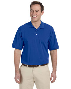True Royal Men's 5.6 oz. Easy Blend Polo