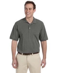 Charcoal Men's Tall 5.6 oz. Easy Blend™ Polo