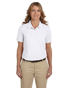 White Ladies' 5.6 oz Easy Blend™ Polo