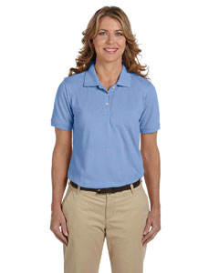 Light College Blue Ladies' 5.6 oz Easy Blend™ Polo