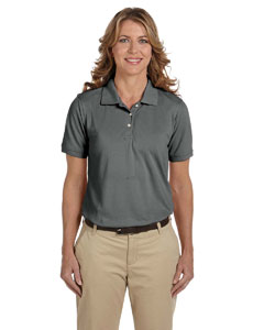 Charcoal Ladies' 5.6 oz Easy Blend™ Polo