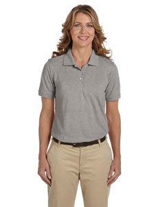 Grey Heather Ladies' 5.6 oz Easy Blend™ Polo