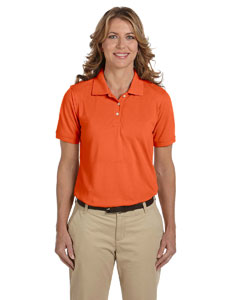 Team Orange Ladies' 5.6 oz Easy Blend™ Polo