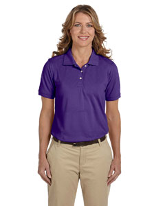 Team Purple Ladies' 5.6 oz Easy Blend™ Polo