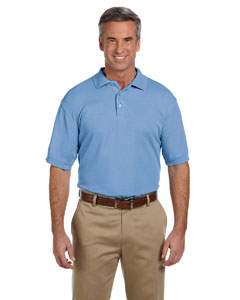 Light College Blue Men's 5 oz. Blend-Tek Polo