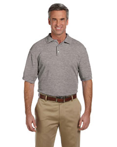Grey Heather Men's 5 oz. Blend-Tek Polo
