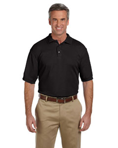 Black Men's 5 oz. Blend-Tek Polo