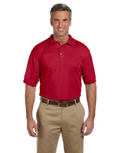 Red Men's 5 oz. Blend-Tek Polo