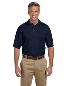 Navy Men's 5 oz. Blend-Tek Polo