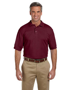 Wine Men's 5 oz. Blend-Tek Polo