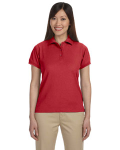 Red Women's 5 oz. Blend-Tek Polo