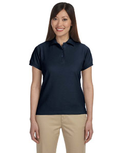 Navy Women's 5 oz. Blend-Tek Polo