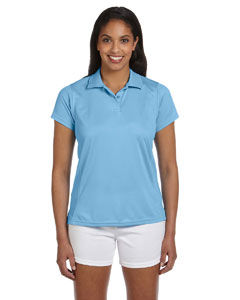 Light Blue Women's 4 oz. Polytech Polo