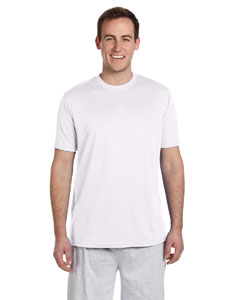 White 4.2 oz. Athletic Sport T-Shirt