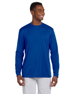 True Royal 4.2 oz. Athletic Sport Long-Sleeve T-Shirt