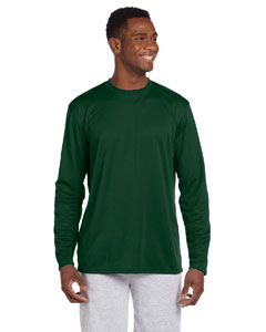 Dark Green 4.2 oz. Athletic Sport Long-Sleeve T-Shirt